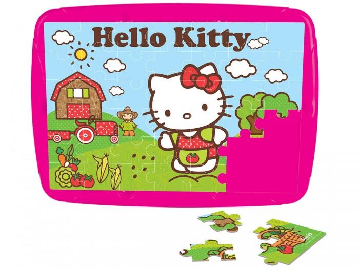 Пазлы Pilsan Набор пазлов Hello Kitty 2 x 42 детали набор карандашей hello kitty 36 hb