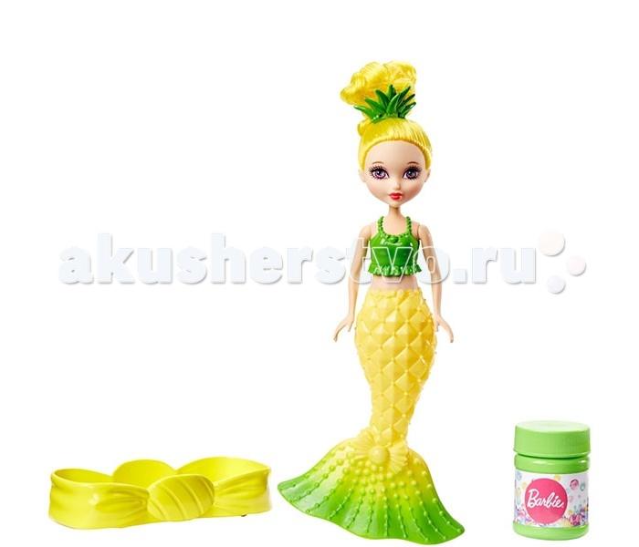 Игровые фигурки Barbie Маленькая русалочка с пузырьками Модная mattel barbie dvm99 барби маленькие русалочки с пузырьками модная