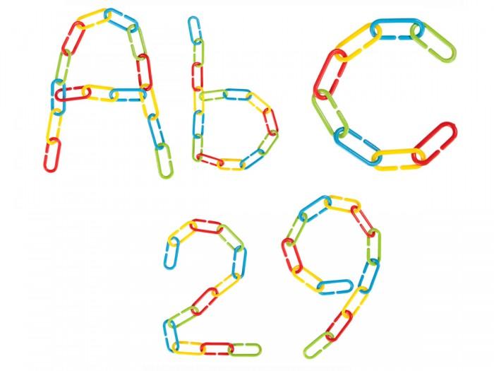Развивающие игрушки Pilsan Набор из цветных Education Chain 256 шт.