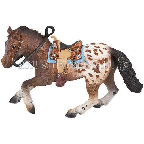 Игровые фигурки Bullyland Фигурка жеребец аппалузский 16,5 см игровые фигурки bullyland фигурка лошадь ольденбургской породы 14 5 см