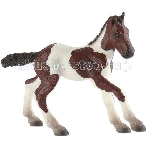 Игровые фигурки Bullyland Жеребенок породы пейнт 9,5 см игровые фигурки bullyland фигурка лошадь ольденбургской породы 14 5 см