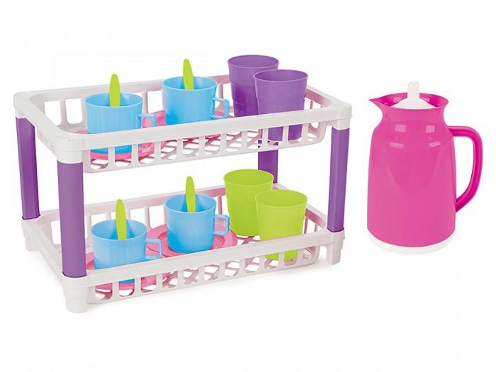 Ролевые игры Pilsan Игровой кухонный набор 2 уровня Sedolous Kitchen Set комплект белья amore mio 7217 7218 2 2 спальный наволочки 70x70 цвет белый розовый