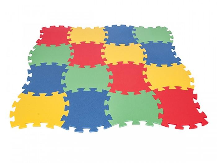 Игровые коврики Pilsan 16-ти секционный игровой центр pilsan шарики для бассейна 100шт 6154plsn