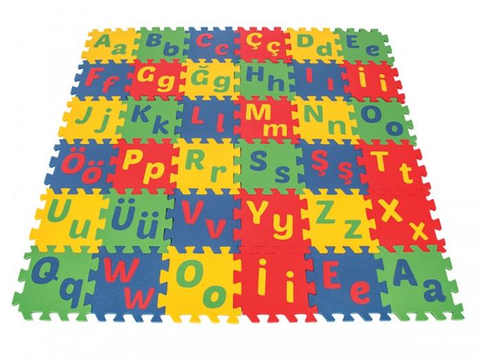 Игровой коврик Pilsan 16-ти секционный с турецким алфавитом