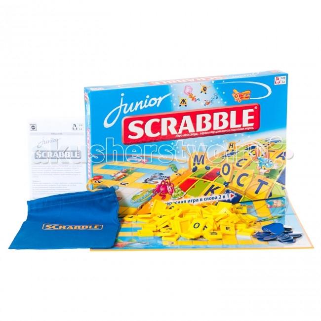 Настольные игры Scrabble Mattel Настольная игра Scrabble Junior Y9736