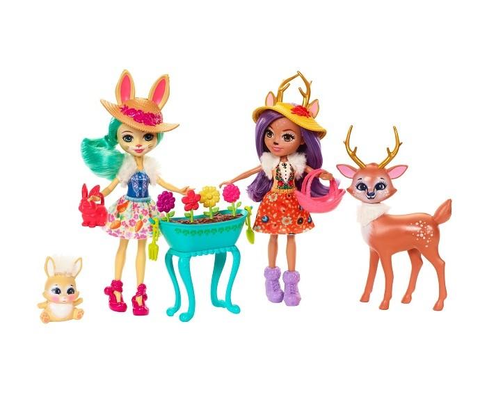Куклы и одежда для кукол Enchantimals Набор из двух кукол с любимыми зверюшками, Куклы и одежда для кукол - артикул:554691