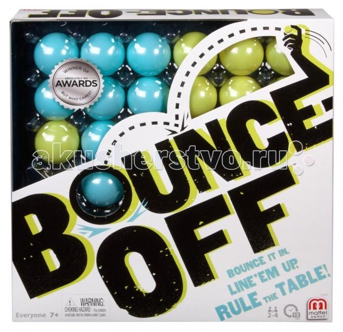 Игры для малышей Mattel Настольная игра Bounce Off 6 4 4m bounce house combo pool and slide used commercial bounce houses for sale