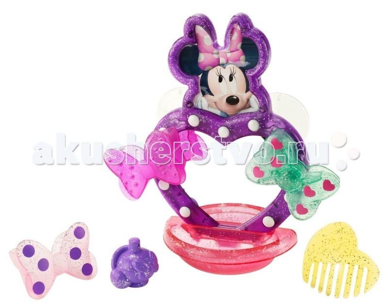 Fisher Price Mattel Набор для ванной Minnie Mouse Маленькая модницаMattel Набор для ванной Minnie Mouse Маленькая модницаFisher Price Mattel Набор для ванной Minnie Mouse Маленькая модница приведет ее в восторг! С набором аксессуаров для купания в стиле Минни Маус ваша маленькая принцесса часами не захочет выходить из воды!   Особенности: Основная игрушка Минни Маус с легкость крепится к основанию ванны с помощью двух присосок, а при желании ей можно менять банты по бокам!  В наборе множество аксессуаров, с которыми ваша маленькая модница будет наводить красоту не выходя из ванны!  Играя с набором Маленькая модница - Minnie Mouse, ребенок развивает моторику рук, фантазию и творческие способности!<br>