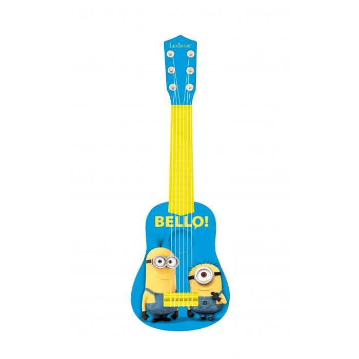 Музыкальные игрушки Lexibook Гитара Миньоны росмэн приглашение в конверте миньоны 6 шт