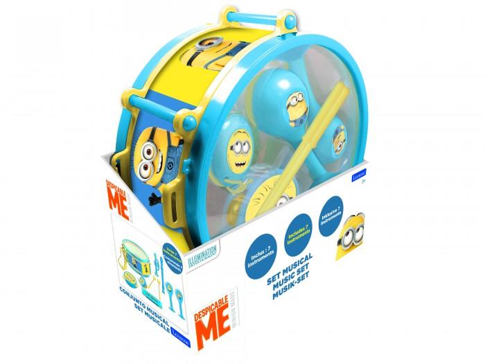 Музыкальные игрушки Lexibook Набор музыкальных инструментов Миньоны, Музыкальные игрушки - артикул:555006
