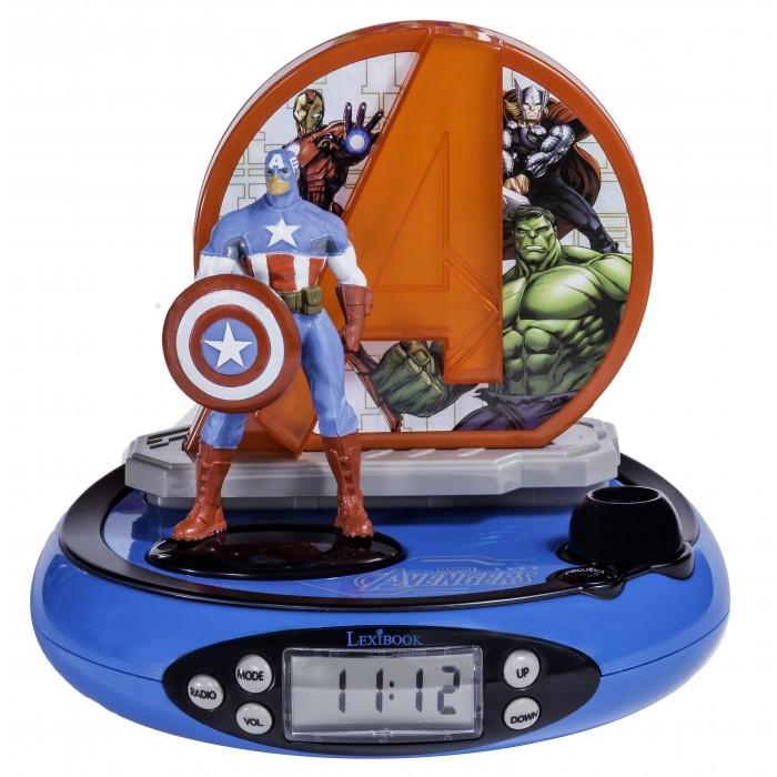 Часы Lexibook Будильник Мстители, Часы - артикул:555071