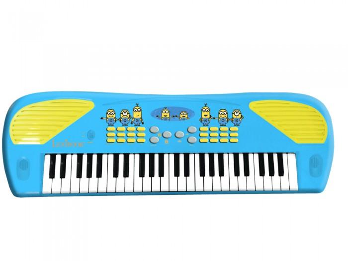 Музыкальные игрушки Lexibook Электро-синтезатор Миньоны, Музыкальные игрушки - артикул:555186