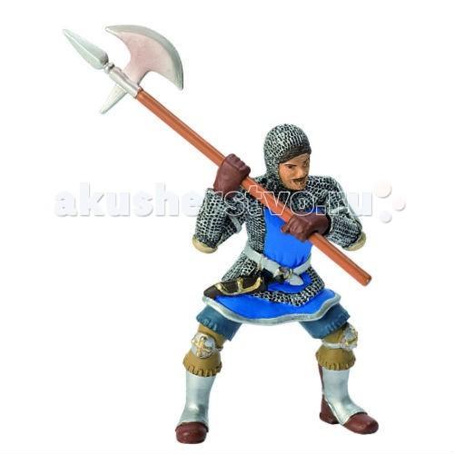 Игровые фигурки Bullyland Синий рыцарь с секирой