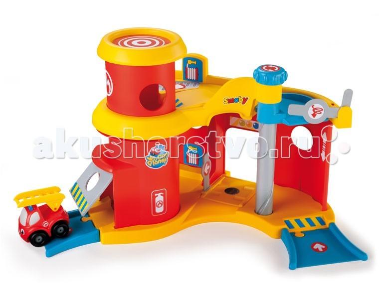 Smoby Пожарная станция Vroom PlanetПожарная станция Vroom PlanetПожарная станция Smoby Vroom Planet прекрасно подойдет для маленьких мальчиков. С таким замечательным набором ваш малыш почувствует себя хозяином небольшой пожарной станции. Он сможет направлять машинки на вызов, загонять их в игрушечный гараж, поднимать и спускать их на специальном лифте.<br>