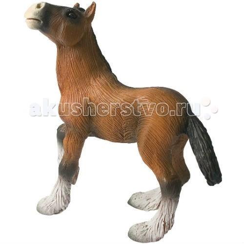Игровые фигурки Bullyland Фигурка Жеребенок шайрской породы 8 см