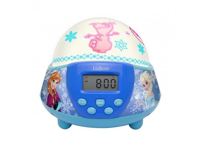 Часы Lexibook Будильник-проектор с радио. Холодное Сердце Дисней