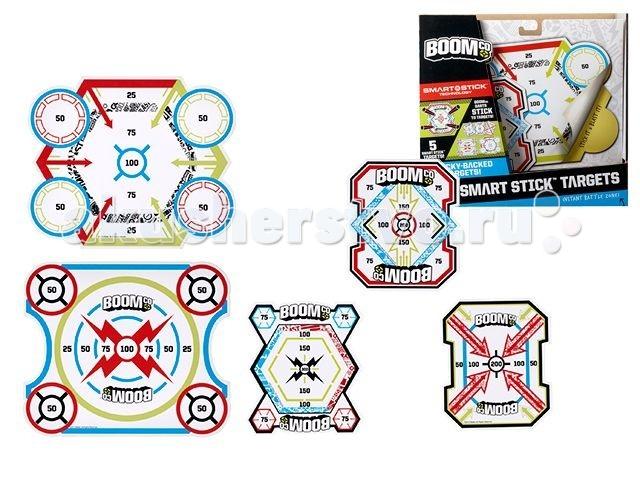 Игрушечное оружие Boomco Набор мишеней настольные игры boomco набор дополнительных аксессуаров для игры