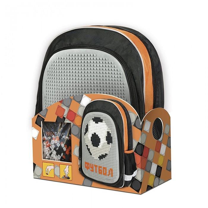 Сумки для детей Maxitoys Рюкзак Футбол c 3-мя картинками для сборки для мальчиков, Сумки для детей - артикул:556651