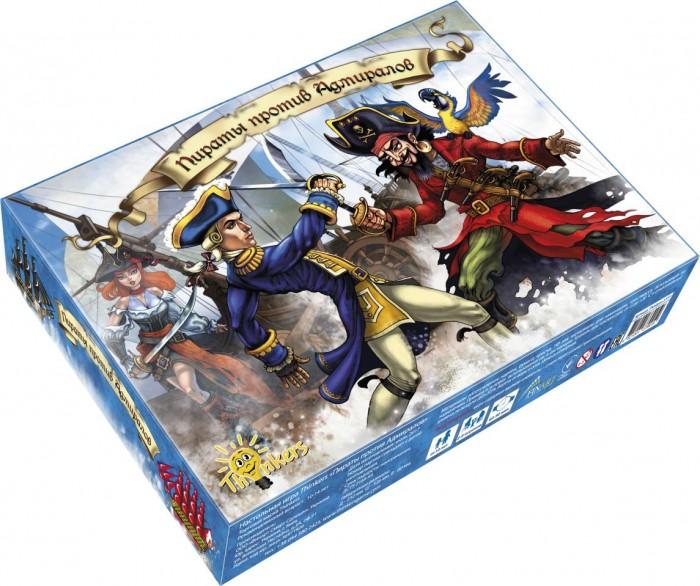Thinkers Настольная игра Пираты против Адмиралов