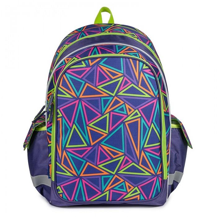 Школьные рюкзаки Maxitoys Рюкзак Разноцветные треугольники, Школьные рюкзаки - артикул:556831