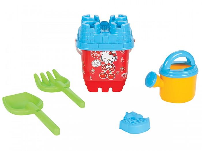 Игрушки в песочницу Pilsan Набор для песочницы с лейкой Hello Kitty набор столовых приборов hello kitty