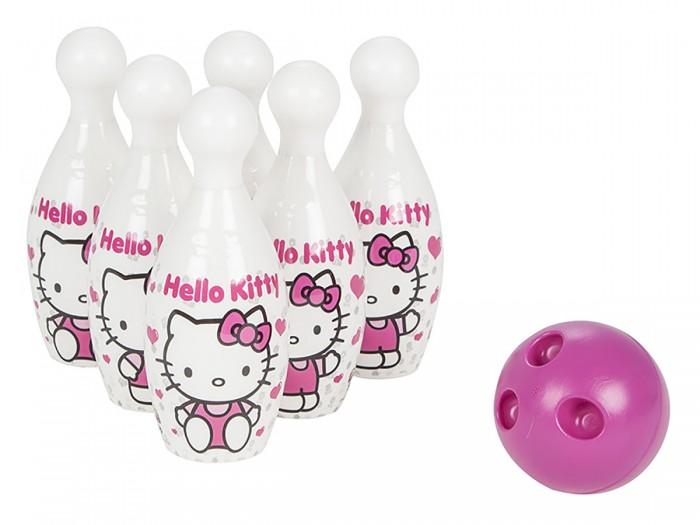Спортивный инвентарь Pilsan Набор для боулинга Hello Kitty Midi Bowling набор smoby hello kitty для завтрака в сумочке 24353