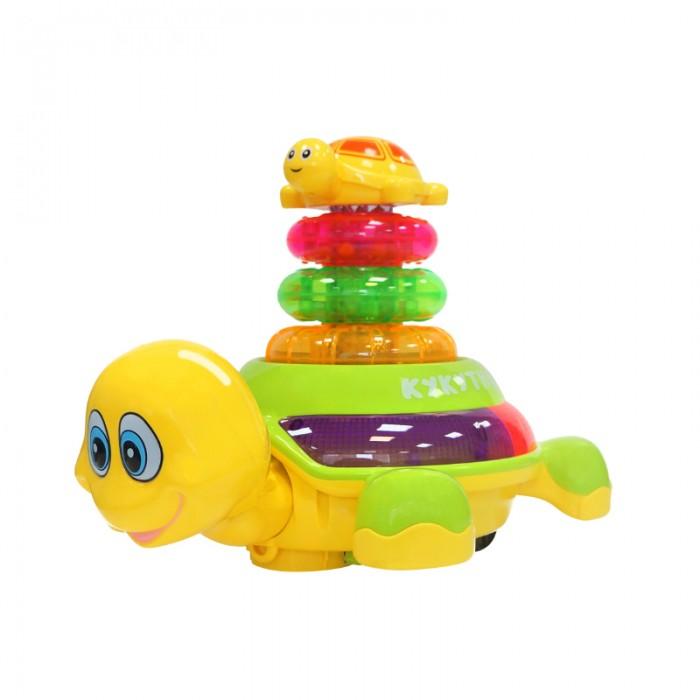 Электронные игрушки My Angel Движущаяся черепаха-пирамидка Кукутики, Электронные игрушки - артикул:557651