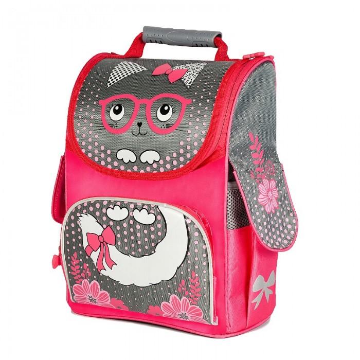 Школьные рюкзаки Maxitoys Рюкзак Котенок в очках для девочек MT-112016-1, Школьные рюкзаки - артикул:557686