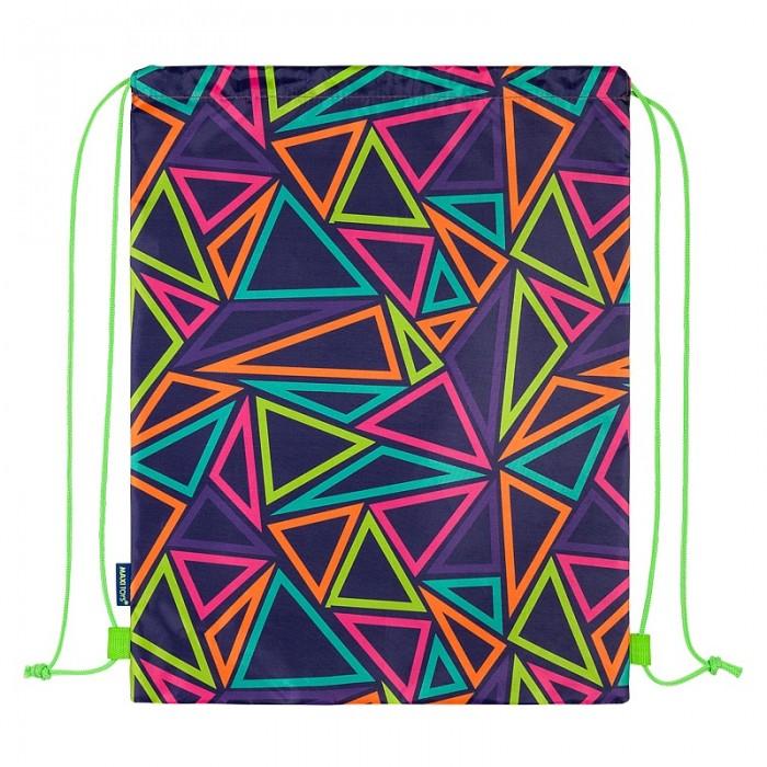 Мешки для обуви Maxitoys Мешок для обуви Разноцветные треугольники мешки для обуви westar мешок для обуви