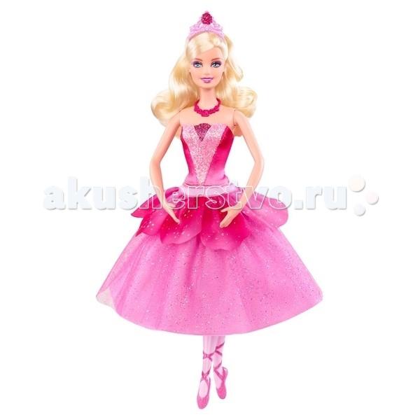 Barbie Кукла Прима-балерина X8810Кукла Прима-балерина X8810Кукла Barbie Прима-балерина в розовом платье для балета, пуантах и диадемой на голове. Лепестки на платье меняют свой цвет для смены образа, если их перевернуть. Любая малышка будет в восторге от куклы Barbie из серии Балерина в розовых пуантах.<br>