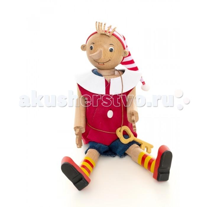 Деревянные игрушки BochArt Буратино, Деревянные игрушки - артикул:557881