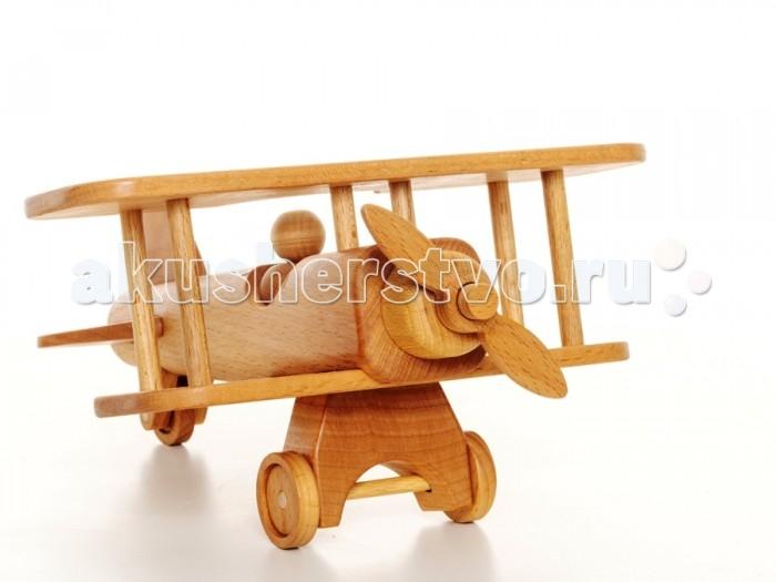Деревянные игрушки BochArt Самолет SA101, Деревянные игрушки - артикул:557966