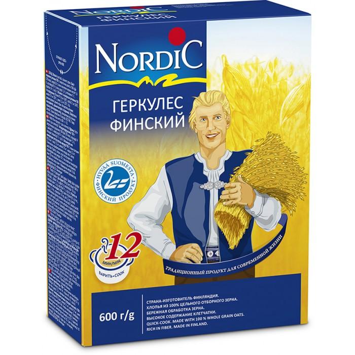 Каши Nordic Каша Финский Геркулес 600 г