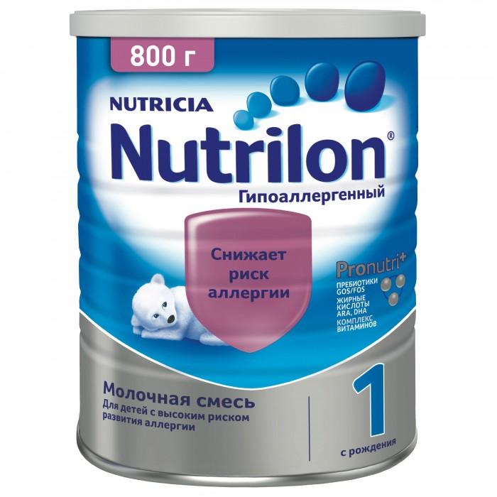 Купить Nutrilon Молочная смесь PronutriPlus специальная гипоаллергенная 1 с 0 мес. 800 г в интернет магазине. Цены, фото, описания, характеристики, отзывы, обзоры
