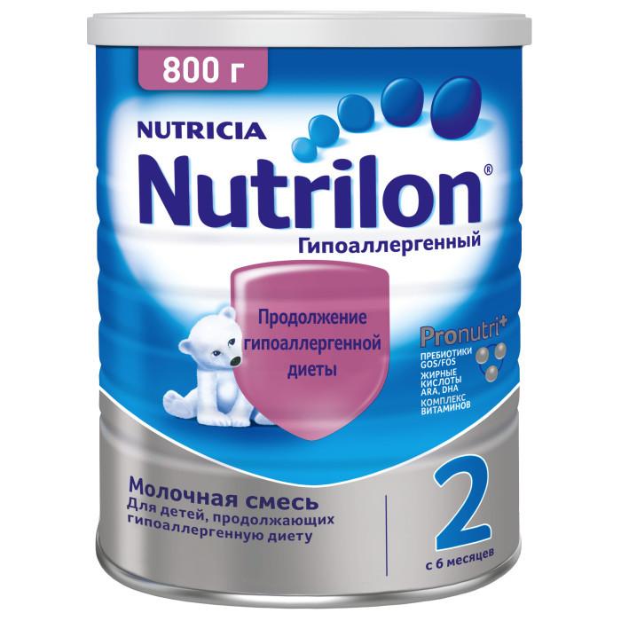 Молочные смеси Nutrilon Молочная смесь специальная гипоаллергенная 2 с 6 мес. 800 г, Молочные смеси - артикул:558311