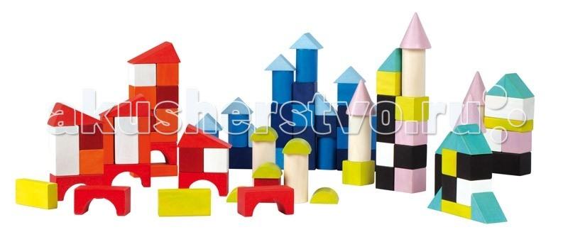 Конструктор Janod Разноцветные блоки 100 шт.Разноцветные блоки 100 шт.Janod Конструктор Разноцветные блоки, 100 шт.  Яркие, разноцветные и разные по форме детали - 100 штук, из которых можно выстроить целый веселый город, выполнены из дерева и окрашены безопасными для детей водорастворимыми красками.Играя вы повторяете с ребенком основные цвета: красный, желтый, оранжевый, черный, белый, синий, голубой, сиреневый, штриховка. и геометрические фигуры и формы: куб, цилиндр, конус, сфера, призма, пирамида, арка, треугольник, квадрат, круг  Для сравнения, размер кубика — 4,5 см x 4,5 см x 4,5 см. Набор упакован в подарочную коробку с прозрачным окошком и двумя переносными веревочными ручками.Предназначен для детей от 1,5 лет.  Описание товара: разноцветные и разные по форме деревянные детали размер кубика 4,5 см x 4,5 см x 4,5 см приятные, натуральные цвета все элементы окрашены безопасными для детей водорастворимыми красками оригинальный французский дизайн набор предназначен для детей от 1,5 лет красивая подарочная коробка с прозрачным окошком и двумя переносными веревочными ручками.<br>