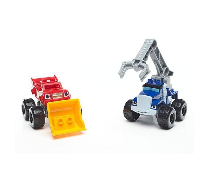 Конструкторы Mega Bloks Вспыш: монстр-траки с аксессуарами (14 деталей), Конструкторы - артикул:558476