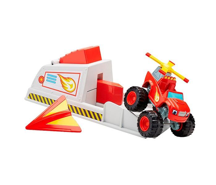 Машины Mattel Blaze Вспыш и чудо-машинки: Вспыш и пусковое устройство