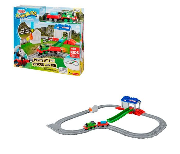 Машины Thomas & Friends Игровой набор Перси в спасательном центре
