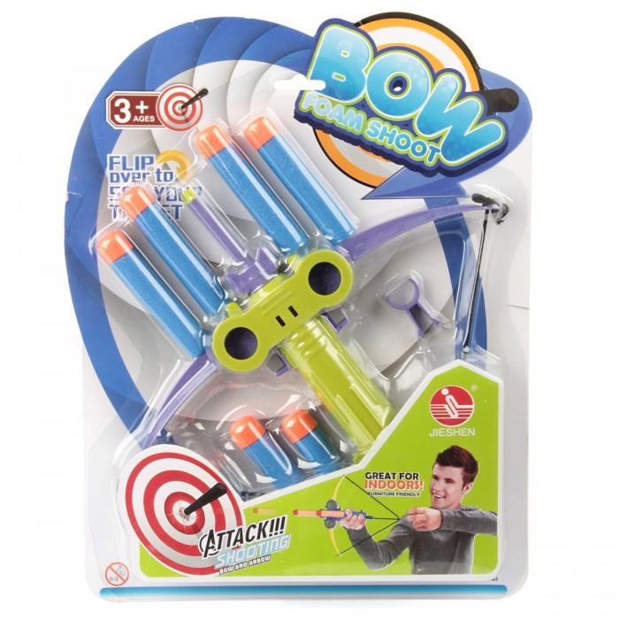Игрушечное оружие Veld CO Лук с мягкими стрелами 67866 игрушечное оружие veld co бластер 72318