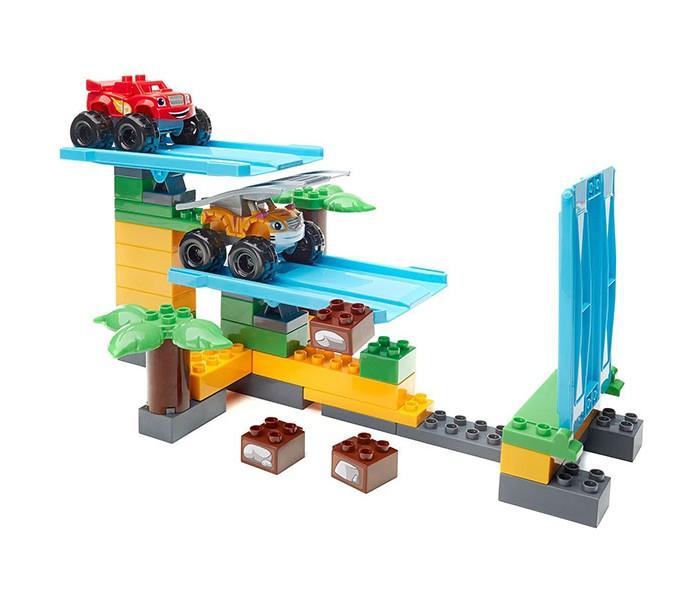 Конструкторы Mega Bloks Вспыш: гонки в джунглях (50 деталей), Конструкторы - артикул:559166