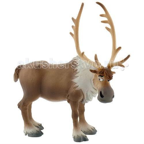 Bullyland Фигурка Принцесса Дисней Холодное сердце Олень Свен 10,5 см