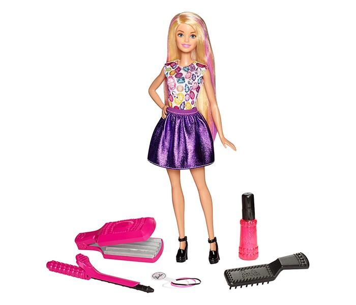 Куклы и одежда для кукол Barbie Игровой набор Цветные локоны, Куклы и одежда для кукол - артикул:559301