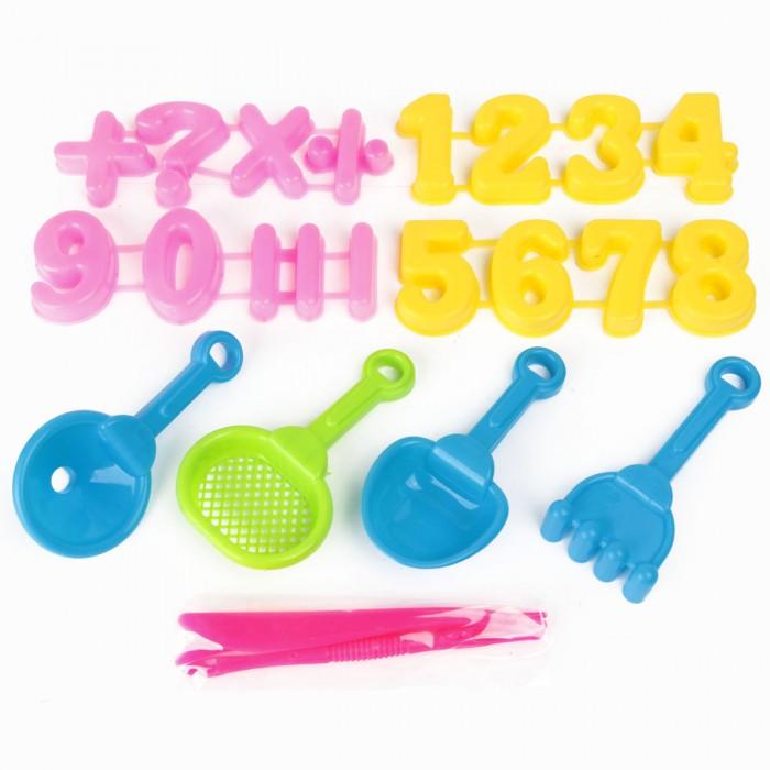 Игрушки в песочницу Veld CO Песочный набор Цифры ролевые игры veld co набор бытовой техники 47277