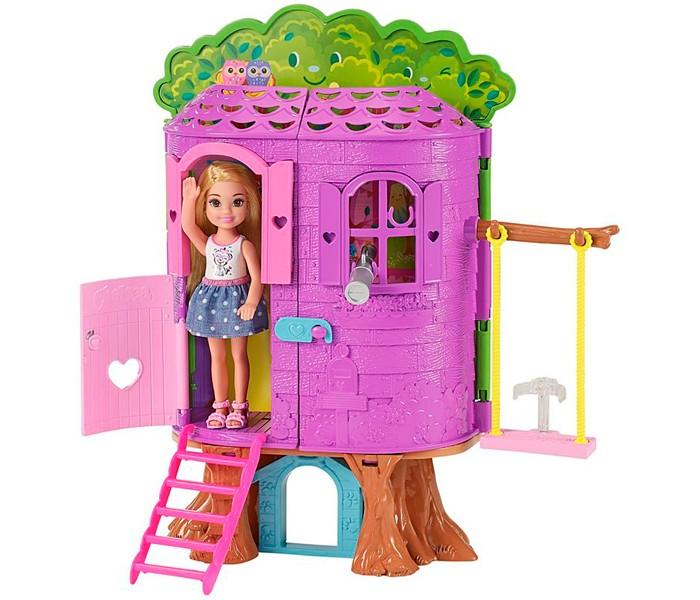 Кукольные домики и мебель Barbie Домик на дереве Челси, Кукольные домики и мебель - артикул:559381