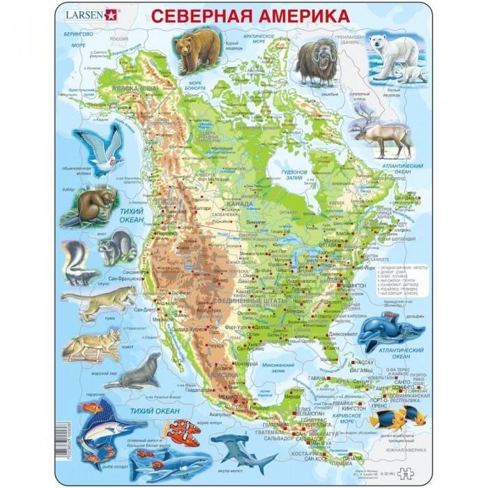 Пазлы Larsen Пазлы Животные Северной Америки