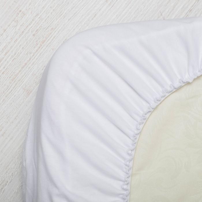 Наматрасники Сонный гномик Наматрасник непромокаемый в круглую кроватку