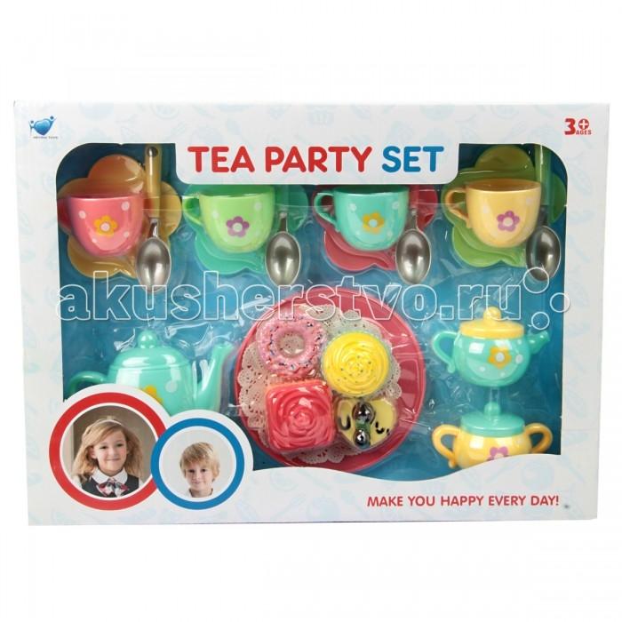 Кукольные домики и мебель Veld CO Набор посуды для кукол 62845 кукольные домики и мебель tigres набор посуды ромашка на 4 персоны большой