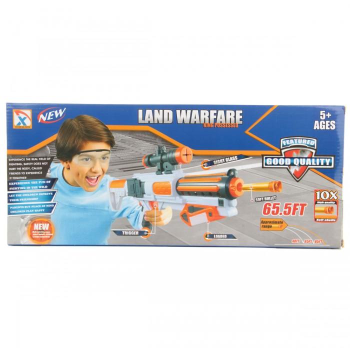 Игрушечное оружие Veld CO Пистолет с мягкими пулями 67896