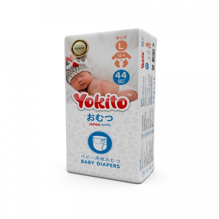 Купить Yokito Подгузники на липучках L ( 12+ кг) 44 шт. в интернет магазине. Цены, фото, описания, характеристики, отзывы, обзоры